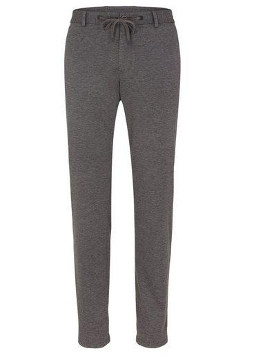 s.Oliver BLACK LABEL Jogg Suit: Melierte Anzughose
