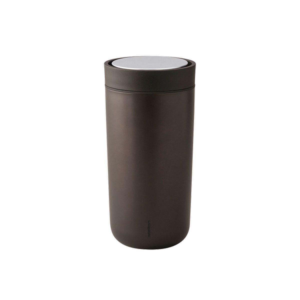 Stelton Stelton Trinkbecher To Go Click 0.2 l, metallic braun