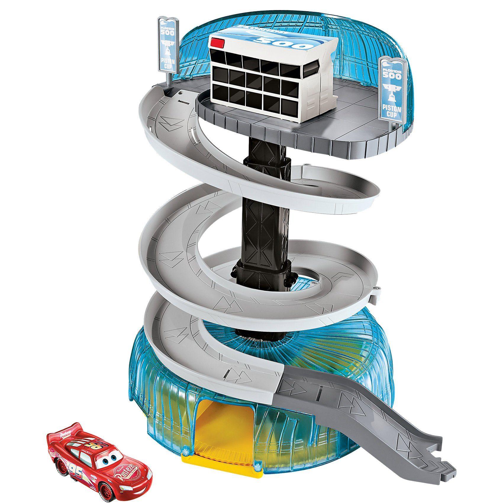 Mattel® Disney Cars 3 Florida Rennstrecken-Turm Spielset