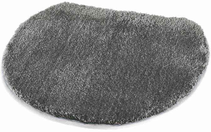 Badematte »Cover« MEUSCH, Höhe 20 mm, rutschhemmend beschichtet, WC-Deckelbezug
