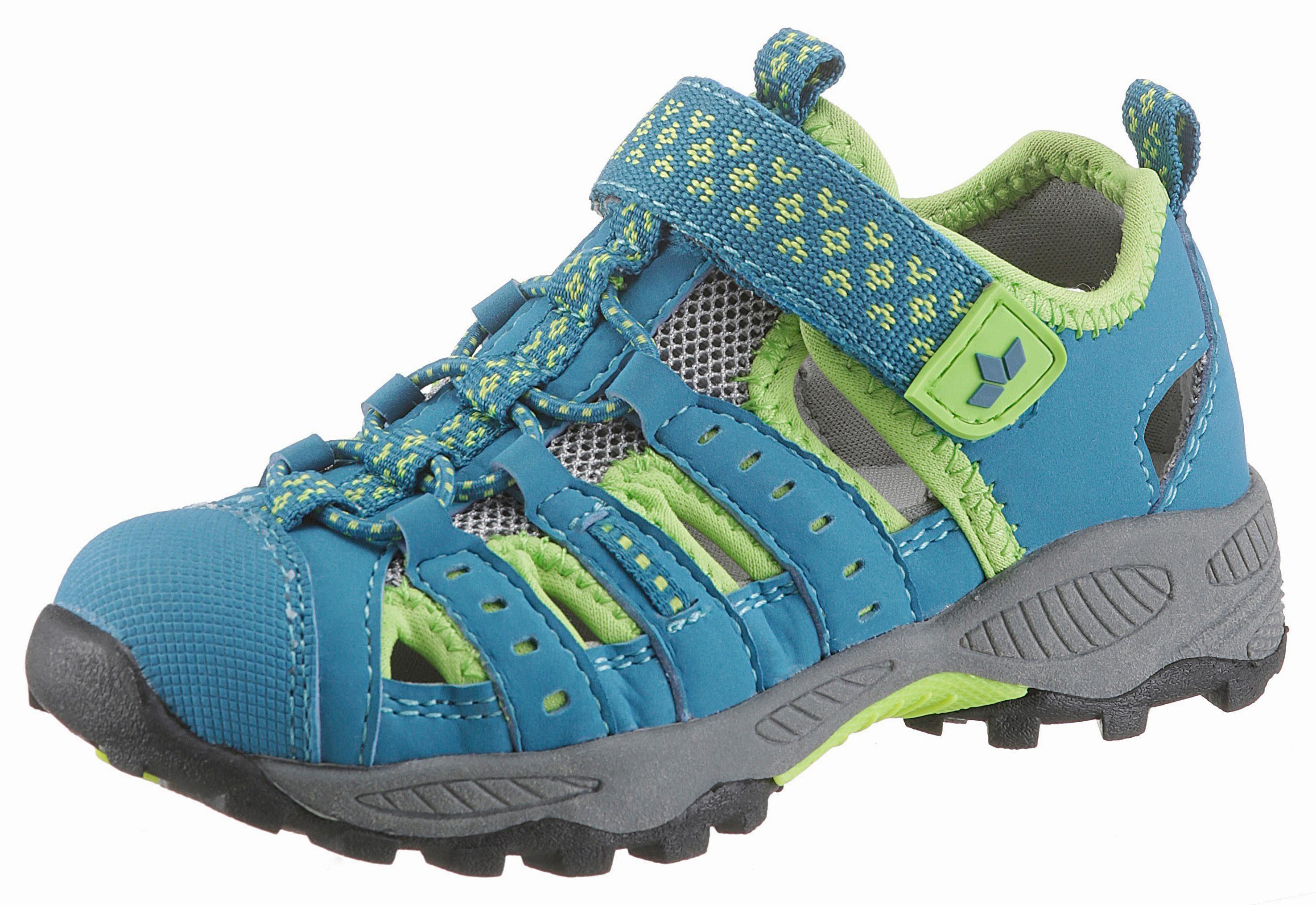 Lico »Beat VS« Sandale, in modischer Farbkombination, blau, blau-grün