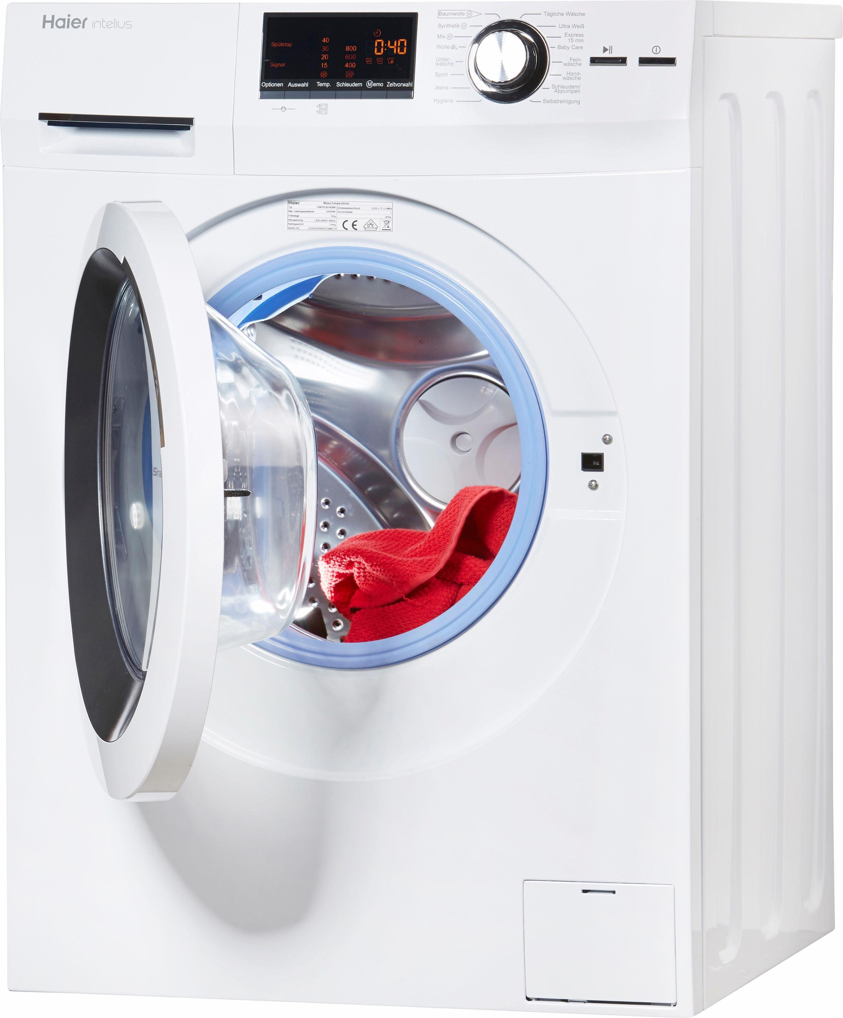 Haier Waschmaschine HW70-B14266, 7 kg, 1400 U/Min