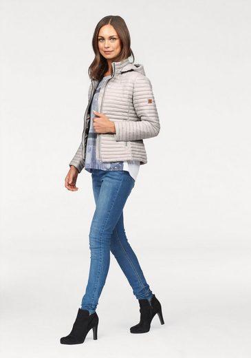 Aniston Steppjacke, mit abnehmbarer Kapuze