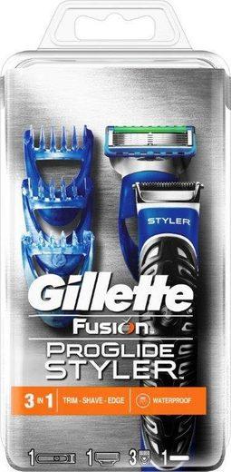 Gillette Nassrasierer »Fusion ProGlide Styler«, 3-in-1