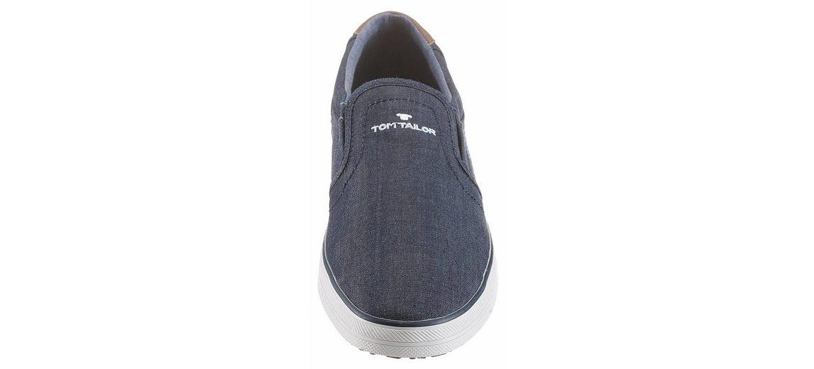 Tom Tailor Sneaker, mit seitlichem Gummizügen