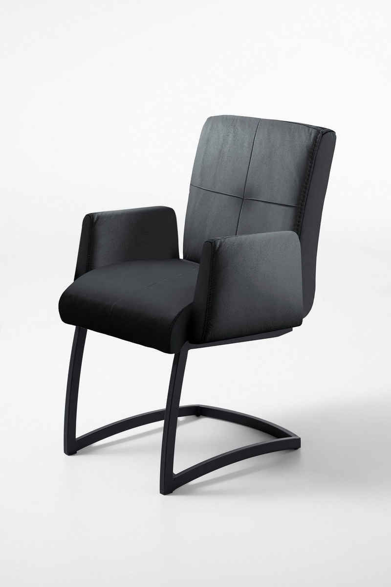 exxpo - sofa fashion Freischwinger »Affogato«, mit Armlehne