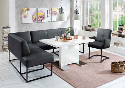 exxpo - sofa fashion Eckbank »Affogato«, Frei im Raum stellbar