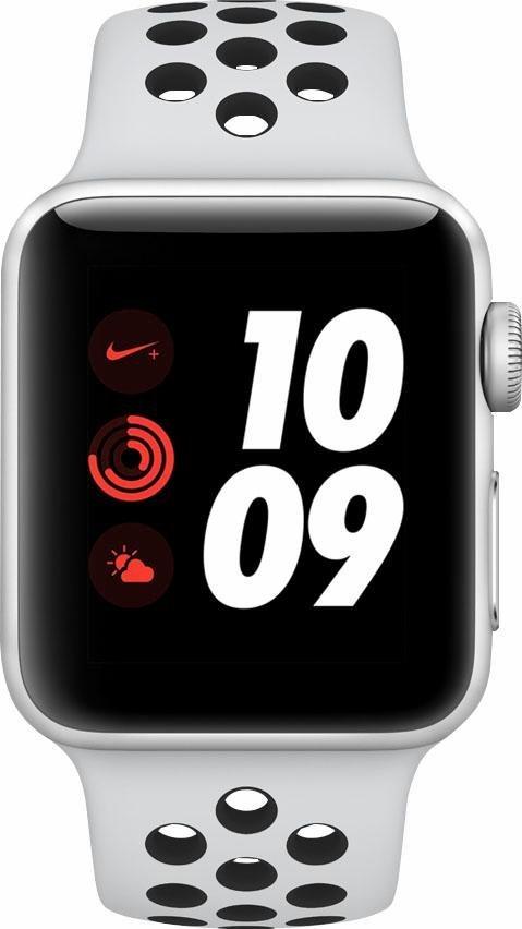 apple watch nike series 3 aluminiumgeh use 38mm mit. Black Bedroom Furniture Sets. Home Design Ideas