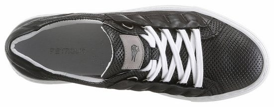 PETROLIO Sneaker, mit allover Perforierung