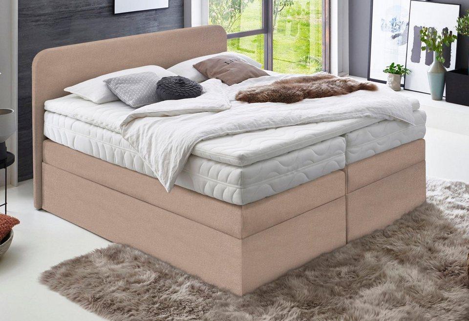 westfalia schlafkomfort boxspringbett wahlweise mit bettkasten online kaufen otto. Black Bedroom Furniture Sets. Home Design Ideas