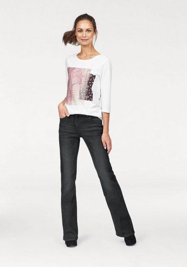 """Cheer Bootcut-Jeans """"Monika"""", mit schlichter Waschung"""