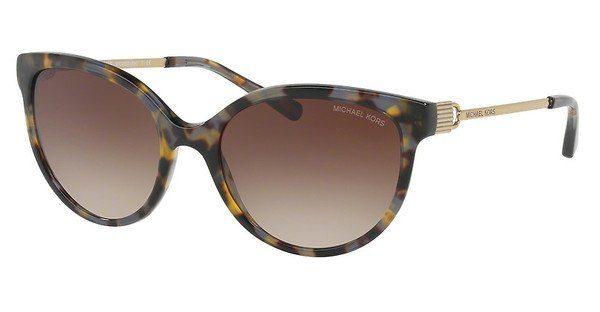 MICHAEL KORS Michael Kors Damen Sonnenbrille »ABI MK2052«, braun, 329213 - braun/braun