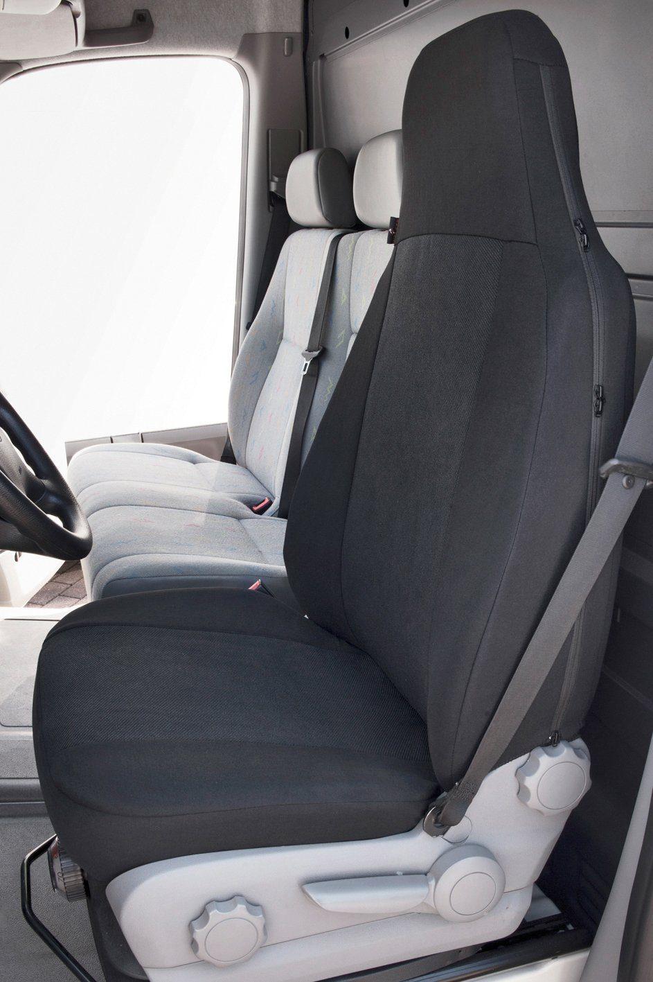 WALSER Autositzauflage , Transporter Universal Highback