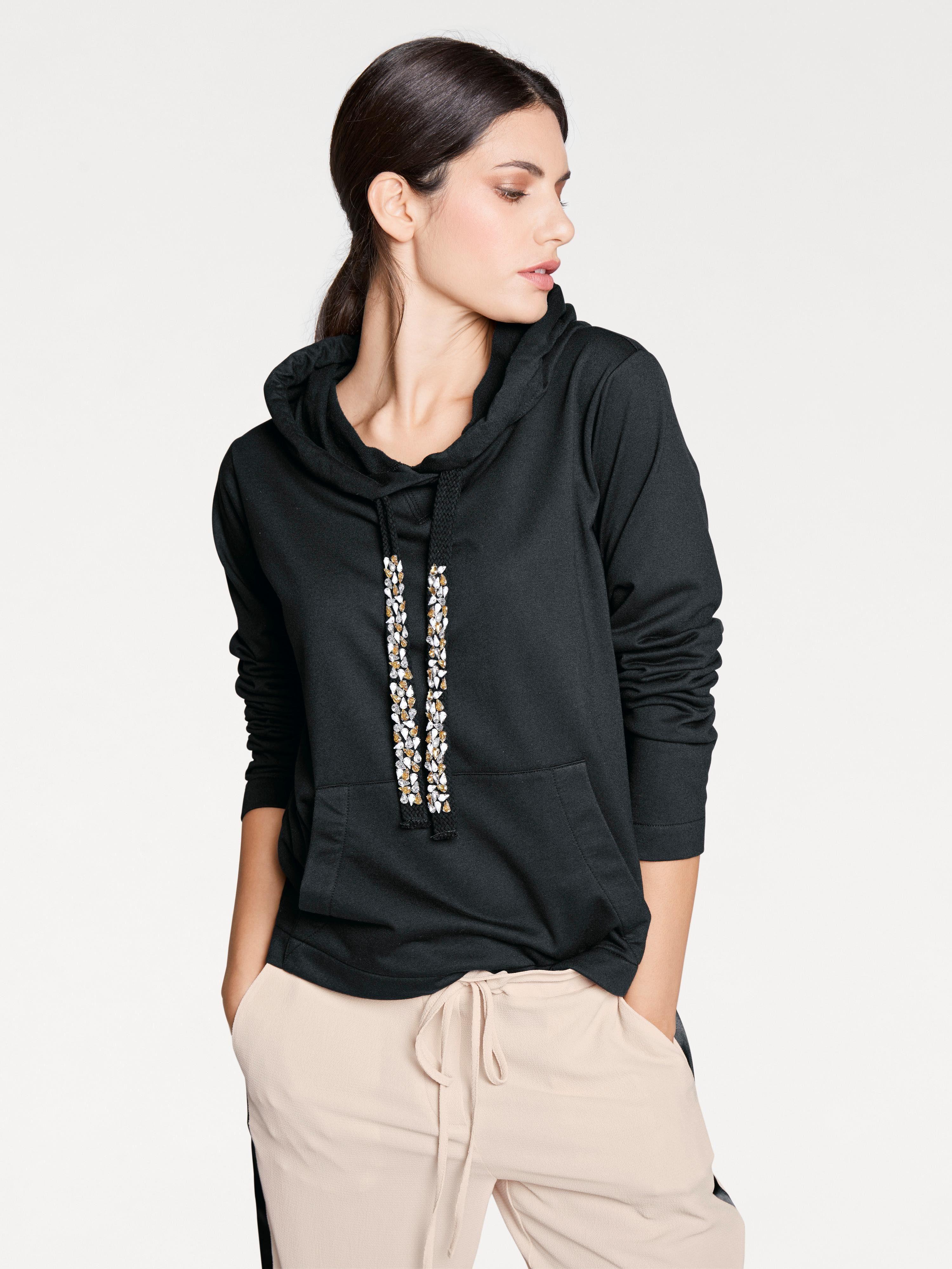 heine STYLE Sweatshirt mit Kapuze