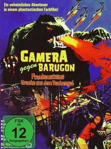 DVD »Gamera gegen Barugon - Frankensteins Drache...«