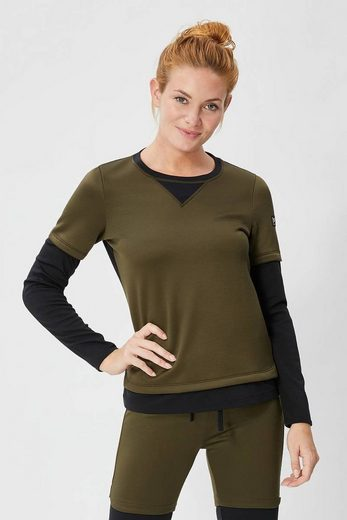 Sweat-shirt Mérinos Super-naturel W Chandail De Montagne Double Couche