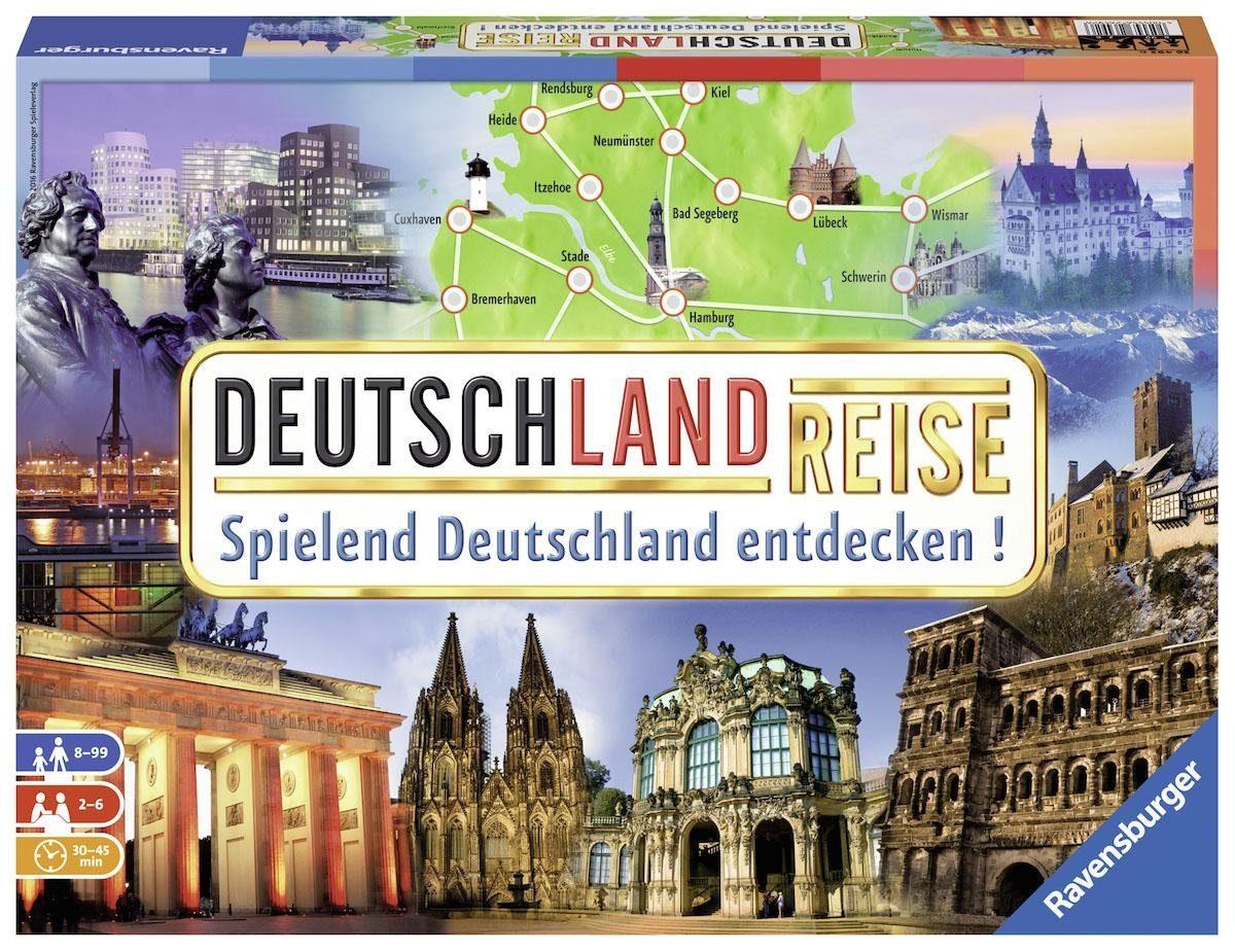 Ravensburger Brettspiel, »Deutschlandreise«