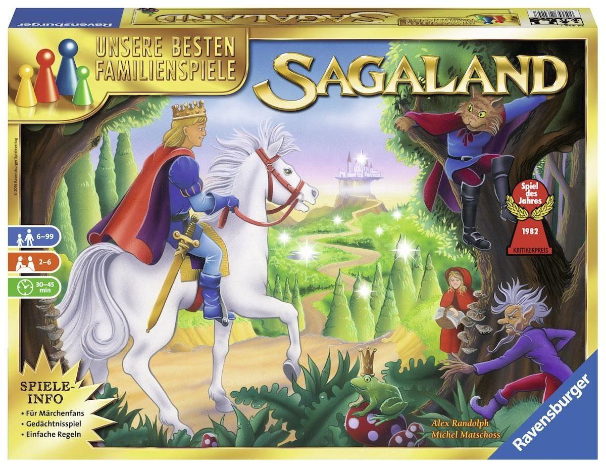 Ravensburger Brettspiel, »Sagaland«