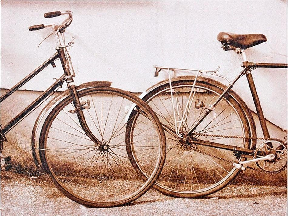 Leinwandbild »Bikes«, 40/30 cm