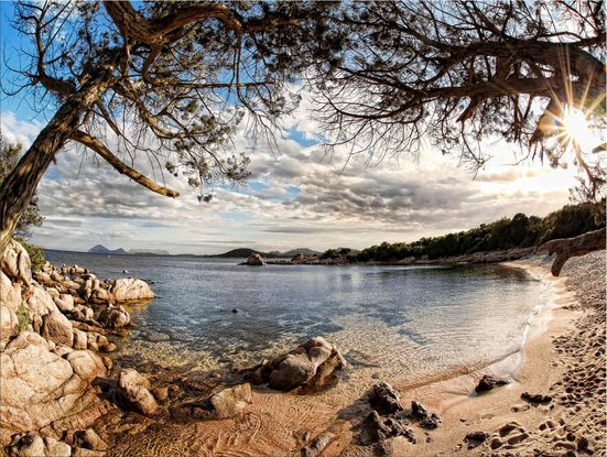 Leinwandbild »Sardinia«, Landschaft, 120/90 cm