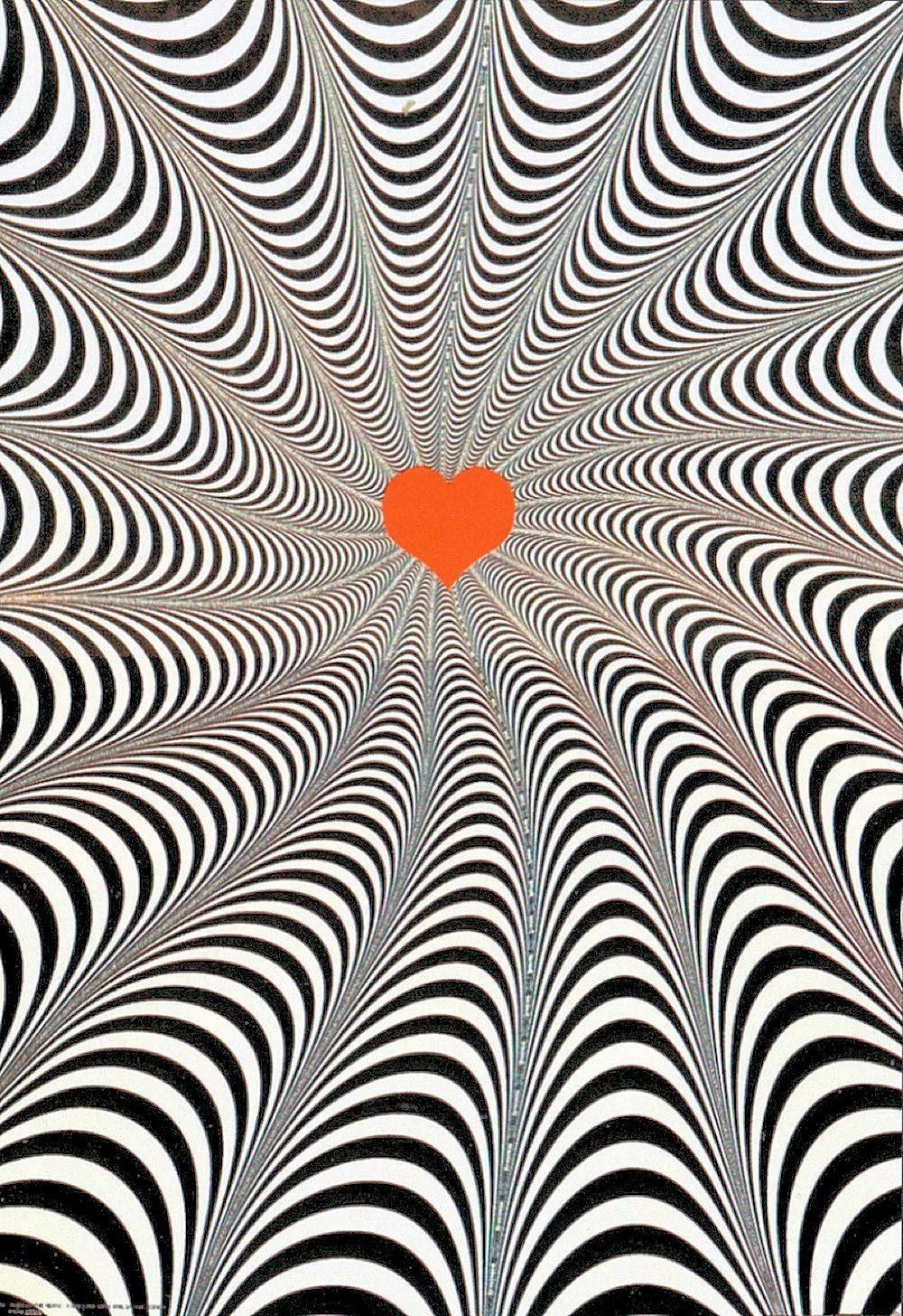 INOSIGN Deco-Panel »Twist of the heart«, Abstrakt, Herz, 68/98 cm
