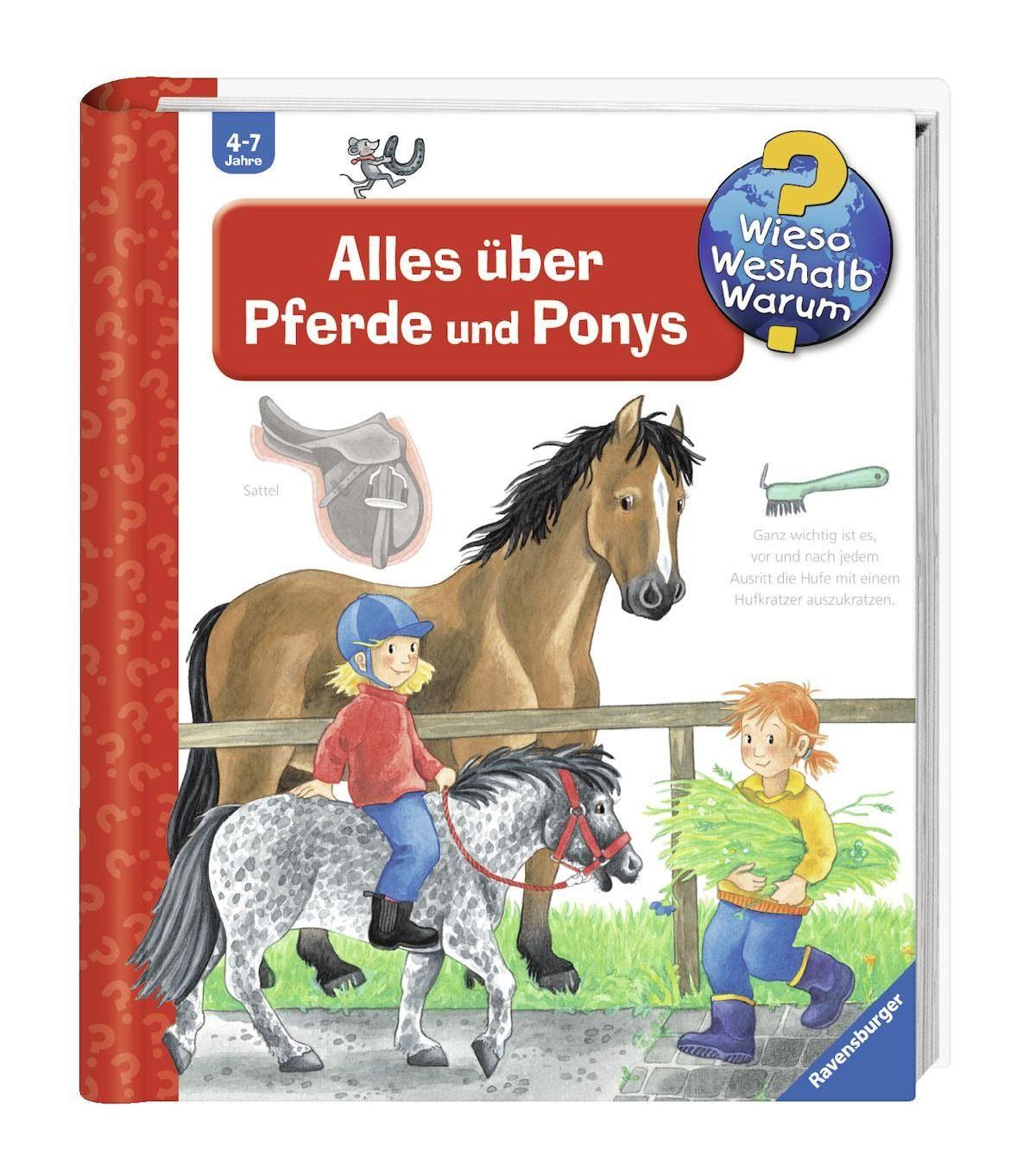 Ravensburger Kinderbuch, »Alles über Pferde und Ponys / Wieso? Weshalb? Warum?«