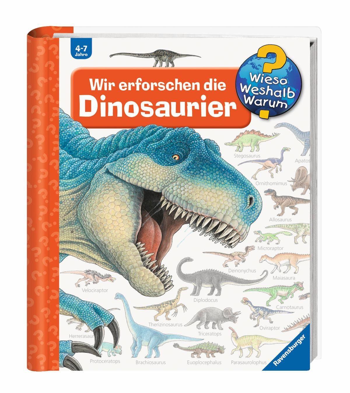 Ravensburger Kinderbuch, »Wir erforschen die Dinosaurier / Wieso? Weshalb? Warum?«