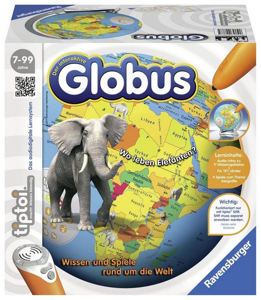 Ravensburger Lernspiel, »tiptoi® Der interaktive Globus«
