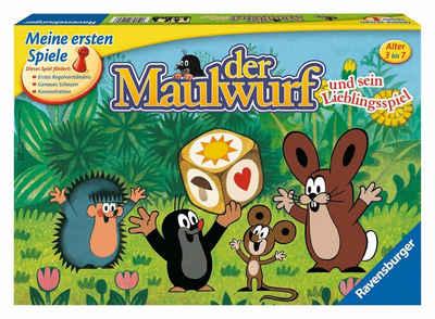 Ravensburger Spiel, »Der Maulwurf und sein Lieblingsspiel«, Made in Europe, FSC® - schützt Wald - weltweit