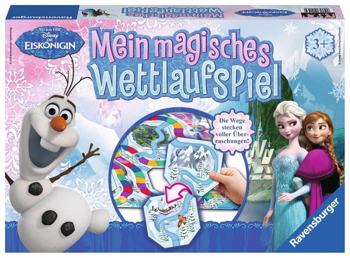 Ravensburger Brettspiel, »Disney Die Eiskönigin Mein magisches Wettlaufspiel«