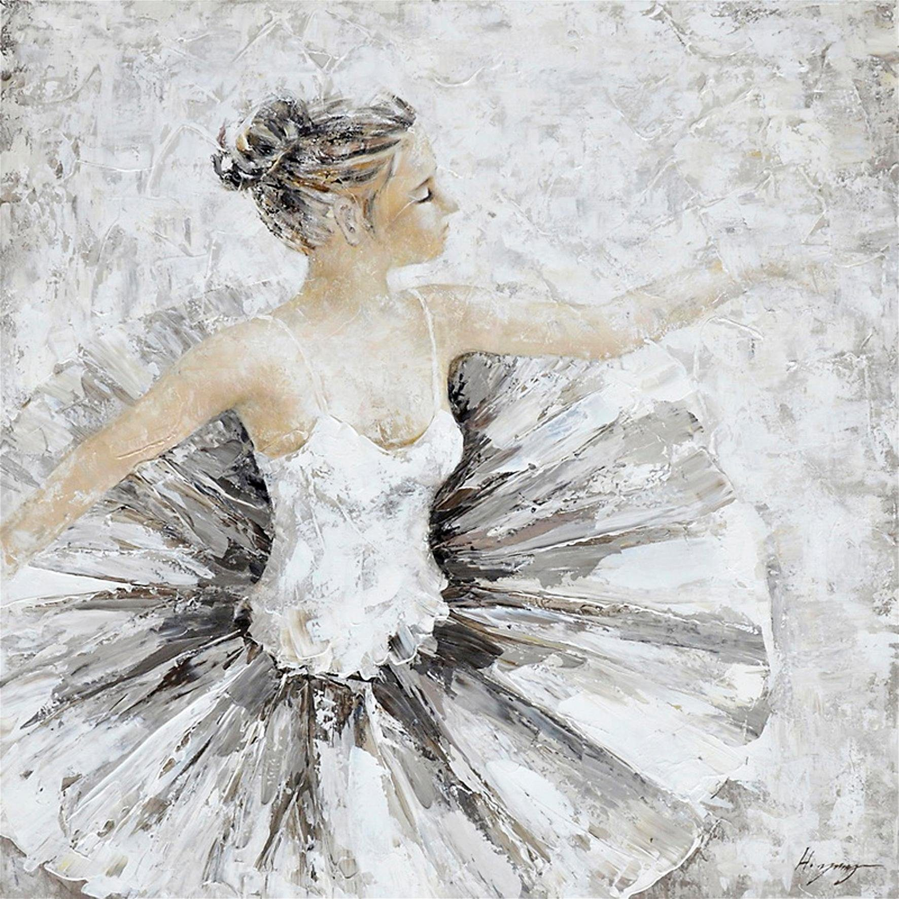 Premium Collection by Home affaire Original Gemälde »Ballerina« 100/100 cm