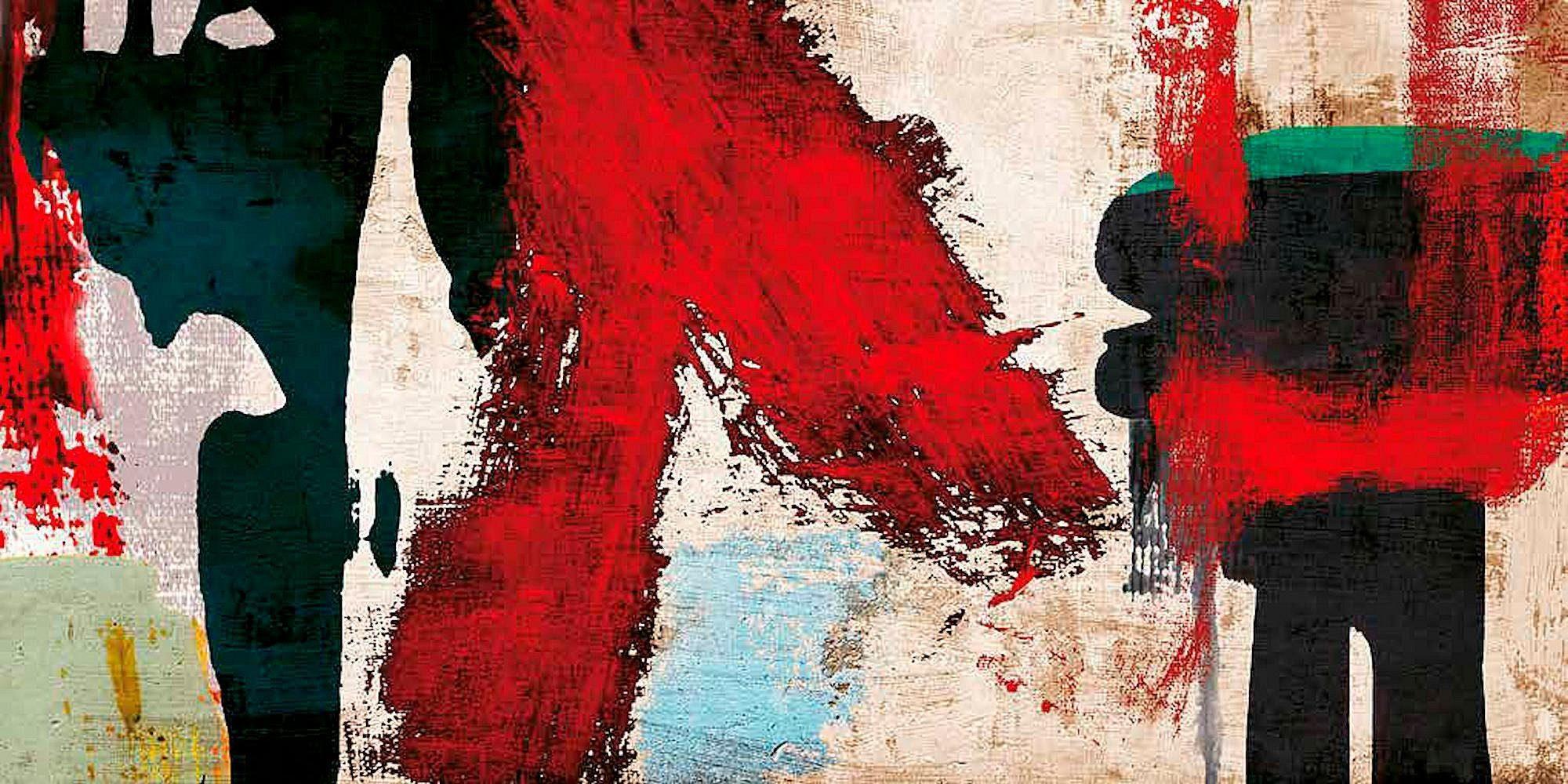 INOSIGN Deco-Panel »ANNE MUNSON / Eccentric Motion«, 100/50 cm