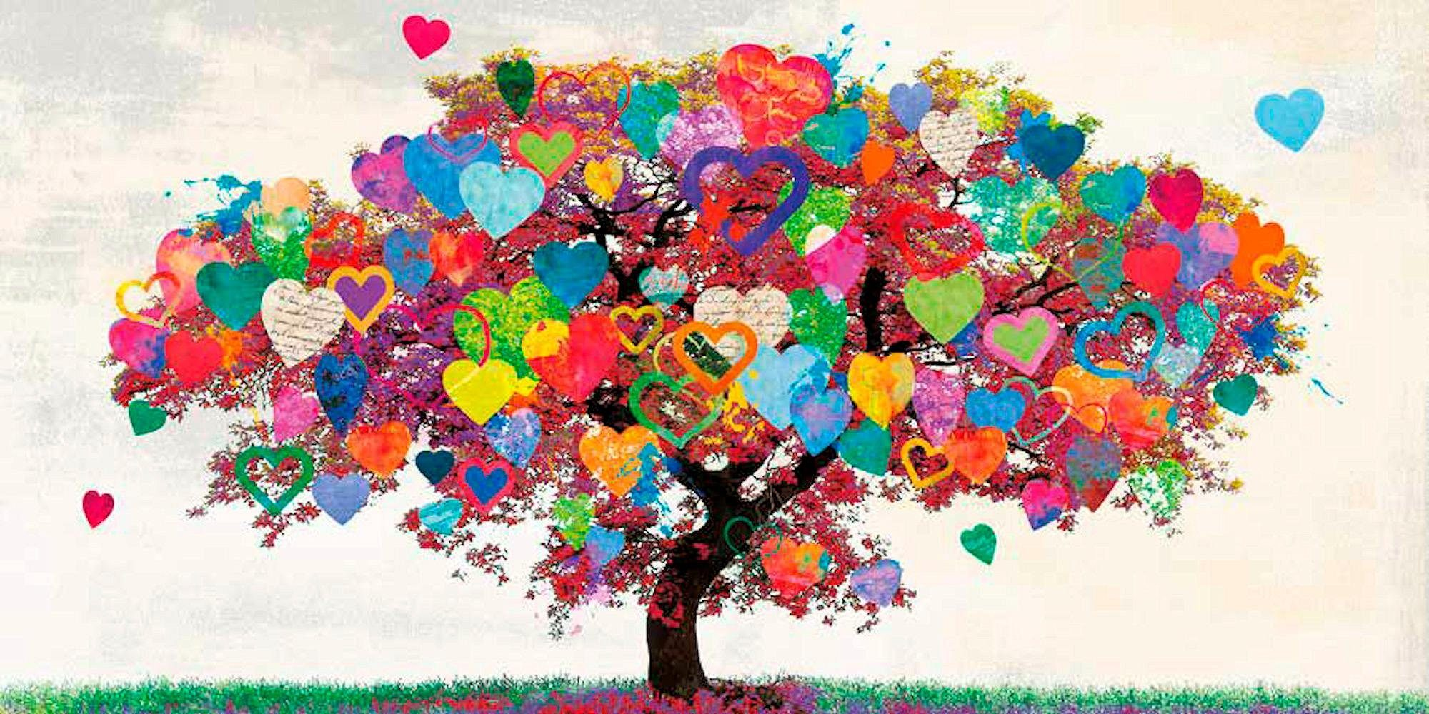 INOSIGN Deco-Panel »MALIA RODRIGUES - Tree of Love«