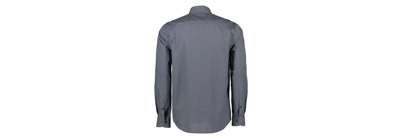 LERROS Hemd mit kleinem Kachelprint Vermarktbare Günstig Online yKHVp9gw