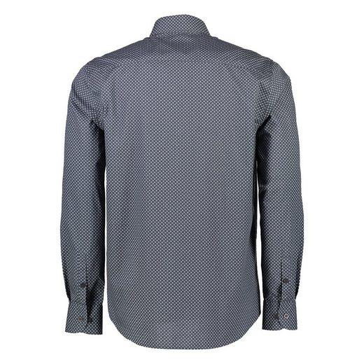 LERROS Hemd mit kleinem Kachelprint