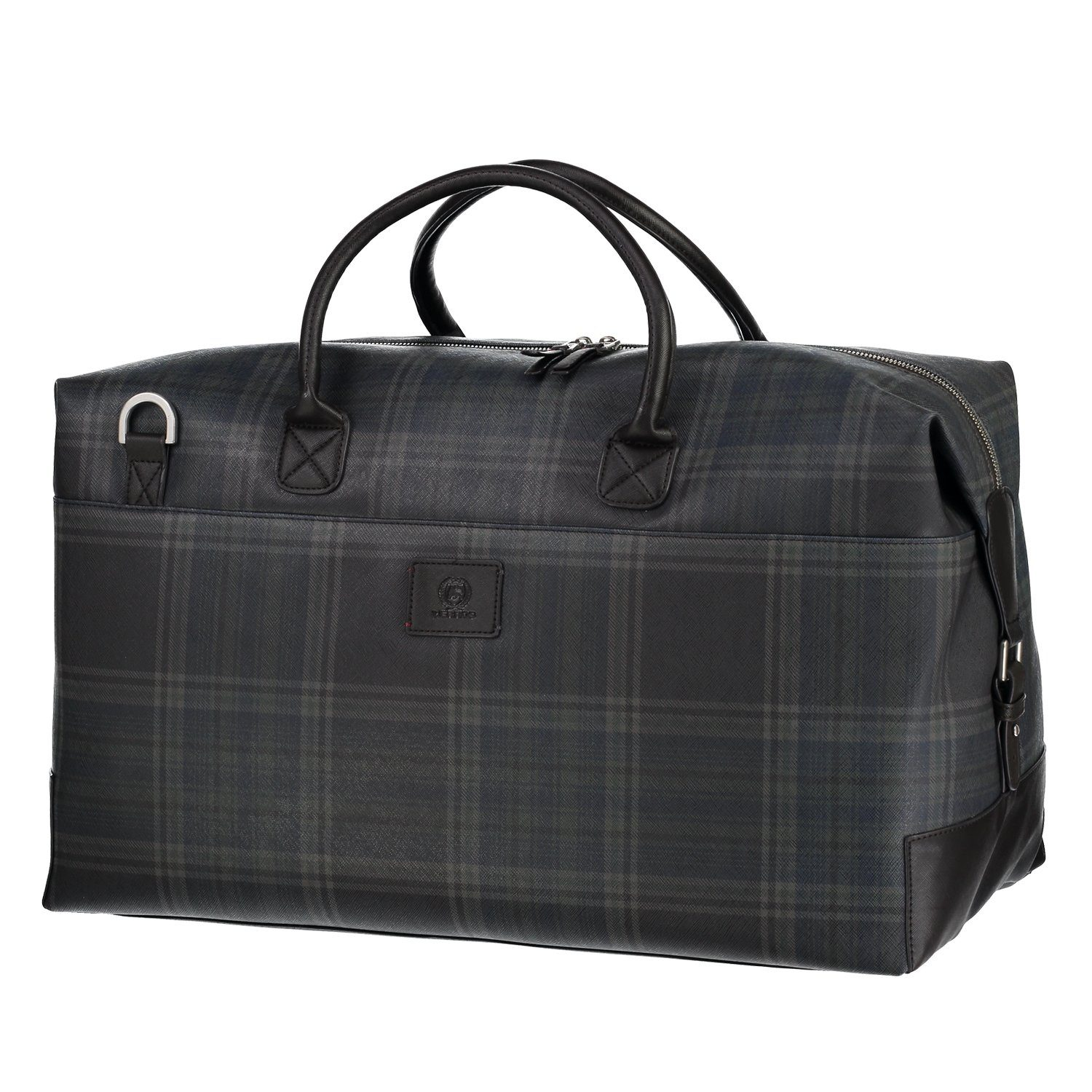 LERROS Weekender in Plaid-Optik