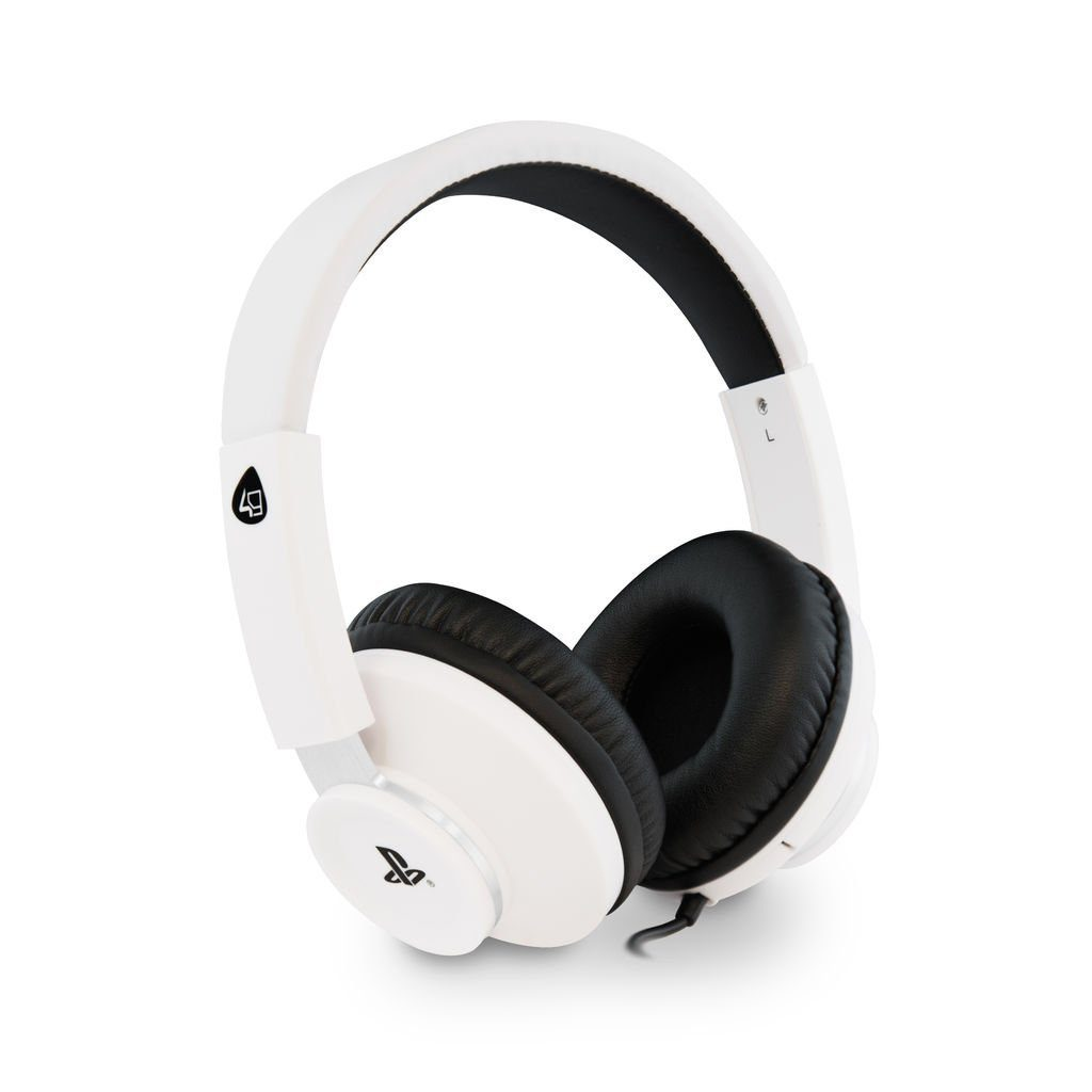 4Gamers Playstation 4 - Zubehör »Pro4 60 Stereo Gaming Headset - weiss«