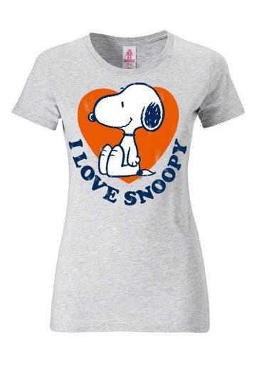 LOGOSHIRT Damenshirt Snoopy - Peanuts