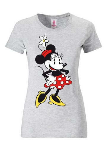 LOGOSHIRT Damenshirt Minnie Mouse - Disney