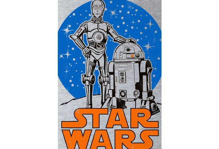 LOGOSHIRT Damenshirt R2-D2 & C-3PO Star Wars Strapazierfähiges Alle Jahreszeiten Verfügbar gEJCnbw9dG