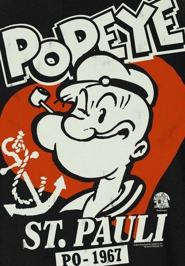 LOGOSHIRT Damenshirt Popeye der Seemann
