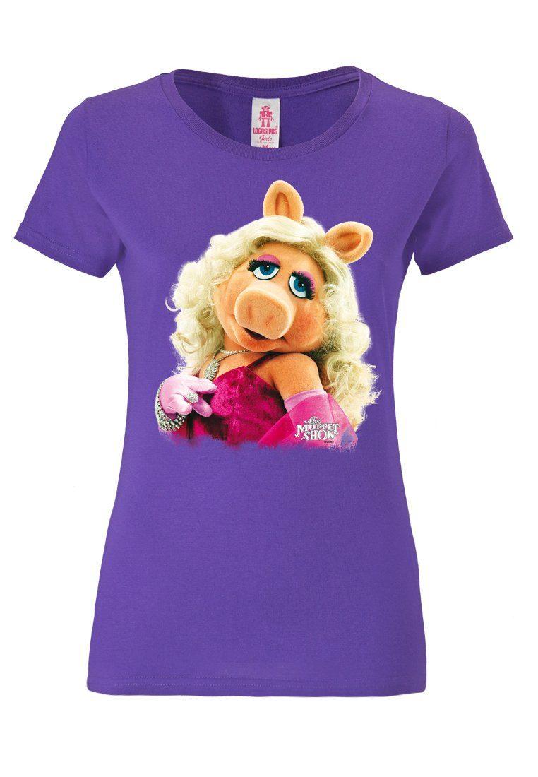 LOGOSHIRT T-Shirt mit Miss Piggy-Frontprint »Miss Piggy - Portrait«
