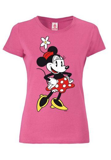 Logoshirt Damenshirt Minnie Mouse - Disney