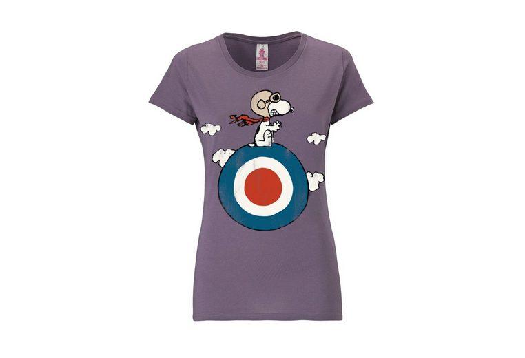 LOGOSHIRT Damenshirt Snoopy - Peanuts Rabatt Günstigsten Preis 2018 Online-Verkauf Preiswert Aus Deutschland Günstigem Preis Angebote Online Flvi04