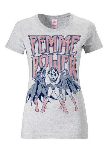 LOGOSHIRT Damenshirt Wonder Woman