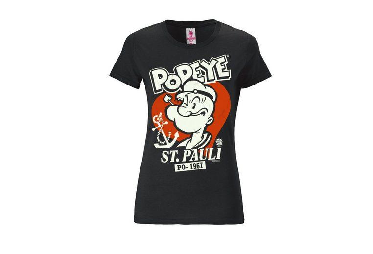 Günstig Kaufen Authentisch Beste Authentisch LOGOSHIRT Damenshirt Popeye der Seemann 100% Original Auslass Niedriger Versand rBnOidk2