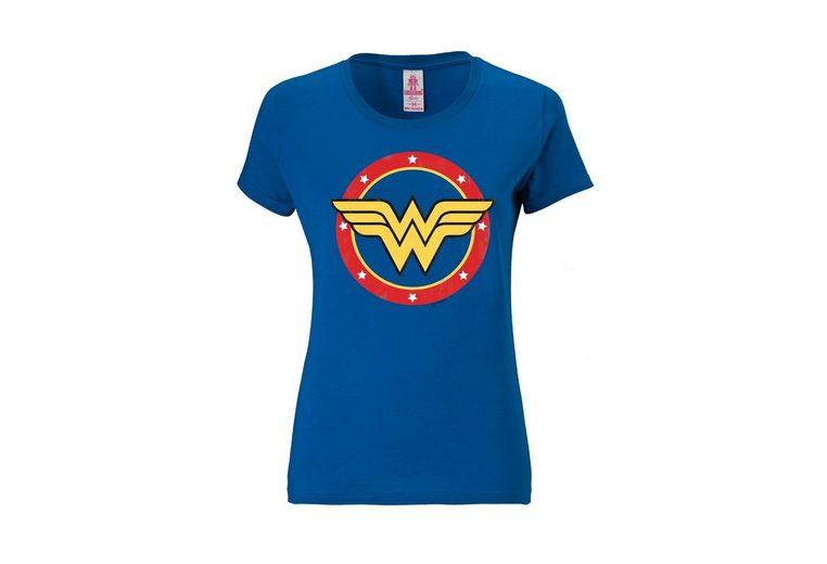 Rabatt Online-Shopping Billige Angebote LOGOSHIRT Damenshirt Wonder Woman - Logo Circle isuunbEctR
