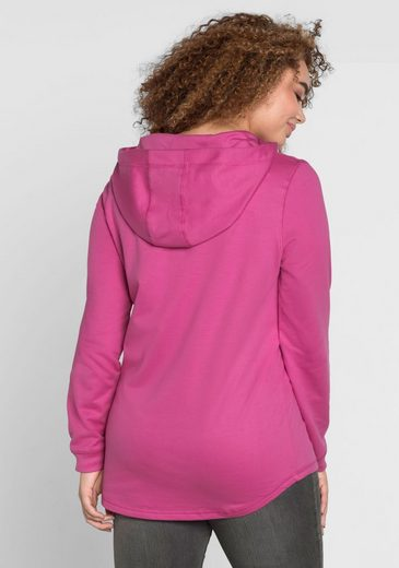 sheego Casual Kapuzensweatshirt