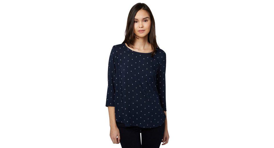 Tom Tailor Denim Shirtbluse Tunika mit Anker-Print