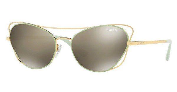 VOGUE Vogue Damen Sonnenbrille » VO4070S«, rosa, 50354Z - rosa/ gold